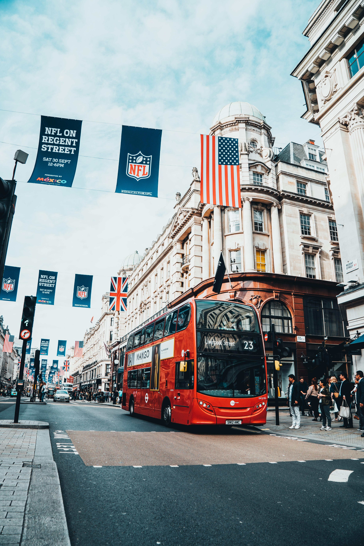 bus tingkat london