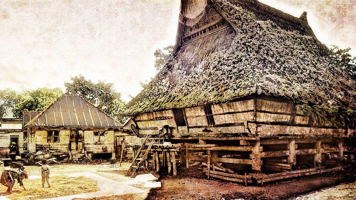 rumah batak karo